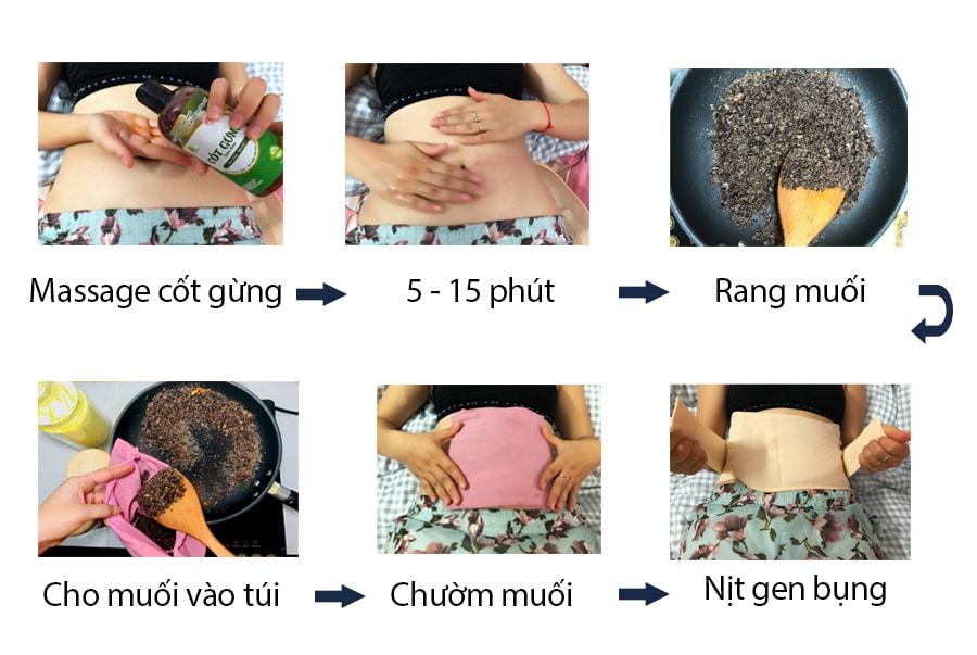cách giảm eo sau sinh