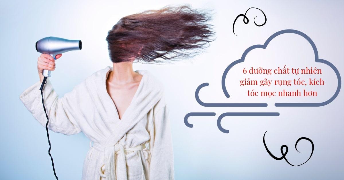 6 dưỡng chất tự nhiên giảm gãy rụng tóc kích mọc tóc nhanh hơn