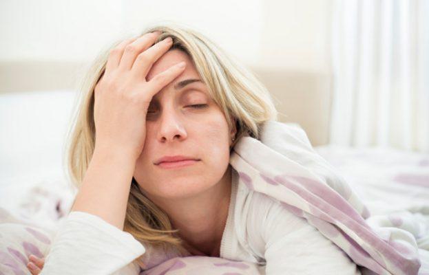 Mất ngủ là biểu hiện thường gặp trong thai kì