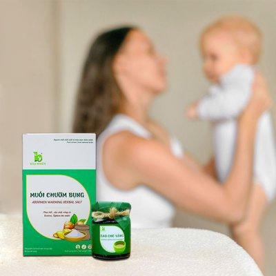 Sau sinh từ 5 – 7 ngày mẹ cần lựa chọn dược phẩm thiên nhiên để sớm về vóc dáng