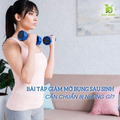 Bài tập giảm mỡ bụng hiệu quả phải đi đôi với sự chuẩn bị kĩ càng.