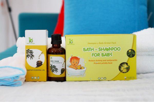 Thành phần từ thảo dược thiên nhiên, sản phẩm phù hợp với mọi cơ địa của trẻ
